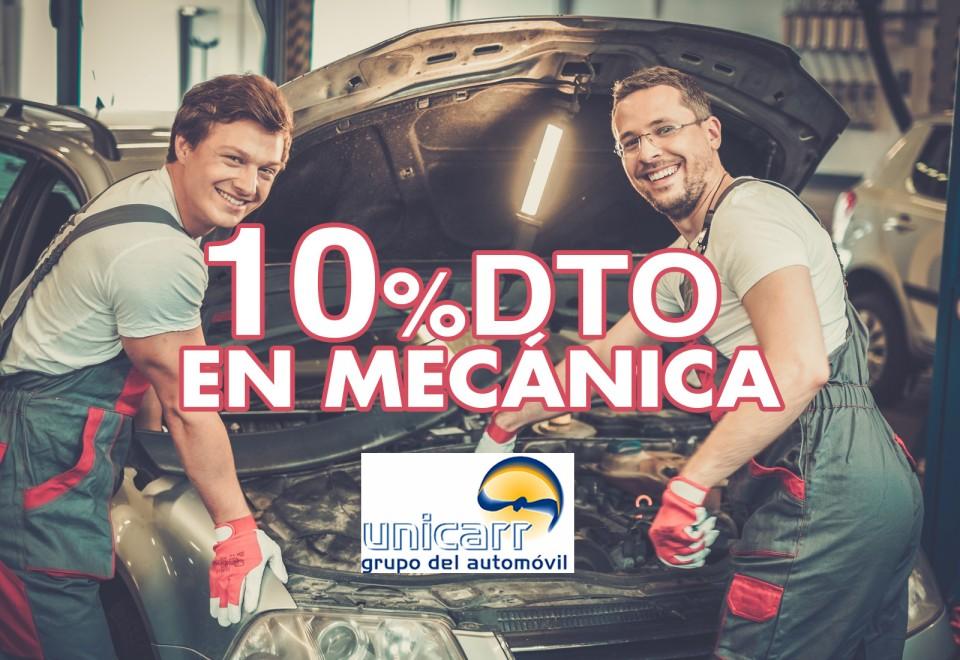 GRUPO UNICARR. 10% DTO EN MECÁNICA